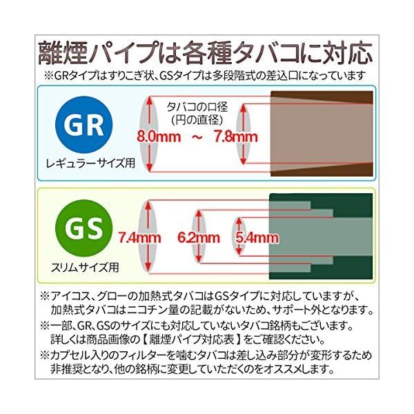 離煙パイプGR 31本セット 禁煙グッズ レギ...の紹介画像4