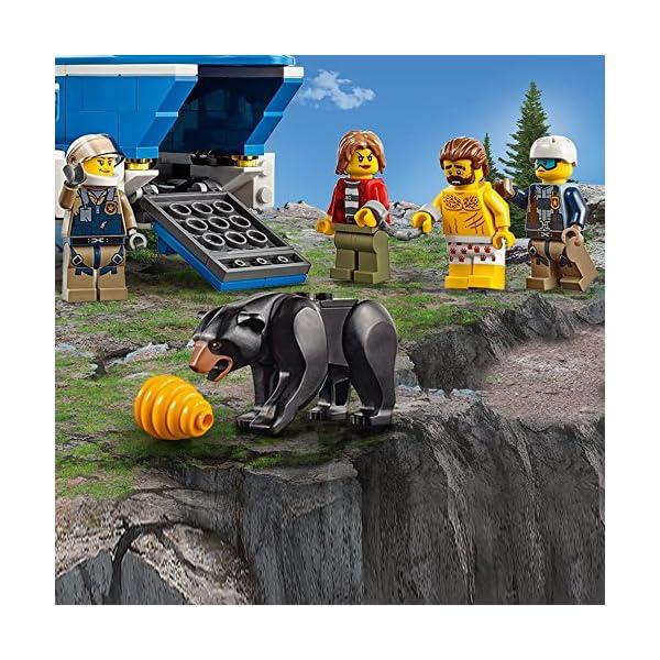 レゴ(LEGO) シティ 山の逮捕劇 60173の紹介画像4