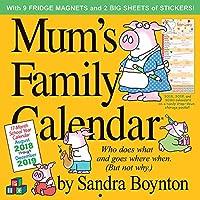 2019 Mums Family Calendar Wall Calendar