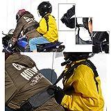 DEZAR ツーリング セーフティー シート バイクの二人乗りベルト