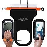 [Amazonブランド] Eono(イオーノ) スマホ 防水ケース IPX8防水 タッチ操作 通話可 顔識別 iPhon…