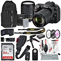 Nikon D7500 DSLR with AF-S DX NIKKOR 18-140mm f/3.5-5.6G ED VR Lens and Accessory Bundle + XPIX Cleaning Kit [並行輸入品]