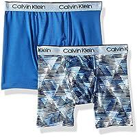 Calvin Klein Big Boys' Performance 2 Pack Boxer Brief