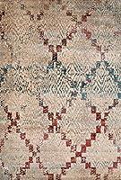 United Weavers of America Jules Diamonds Vintage Area Rug Oversize Multi [並行輸入品]