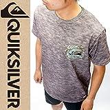 (クイックシルバー) QUIKSILVER メンズハイブリッド半袖Tシャツ 水陸両用 QLY152020 HTR M