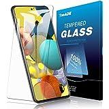 Galaxy A51 5G ガラスフィルム TopACE Galaxy A51 5G フィルム 日本旭硝子製 強化ガラス 液晶保護フィルム 気泡防止 自動吸着 防指紋 高透明度 Galaxy A51 5G SCG07 / SC-54A対応【2枚セット