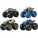 Mattel - Hot Wheels Monster Trucks - 1:64 4-Pack Assortment