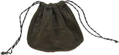 Baosity 調理器具ポーチ 巾着 収納袋 3Dメッシュ布 キャンプ ピクニック用 食器オーガナイザー 全3サイズ
