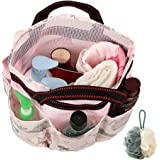 ROMYtendency Shower Caddy Tote Bag - Toiletry Mesh Storage with Shower ball set