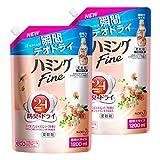 【まとめ買い】ハミングFine ヨーロピアンジャスミンソープの香り 詰替用 1200ml×2個