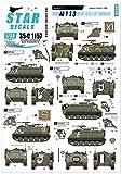 スターデカール 1/35 イスラエル M113ゼルダ レバノン1982 プラモデル用デカール ...