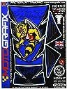 MOTOGRAFIX(モトグラフィックス) タンクパッド Hornet 250/600/900 ブルー MT-TH023B