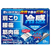 【第3類医薬品】冷感アウチレスシップMS PB 28枚