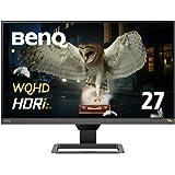 BenQ 27インチWQHD モニター EW2780Q(27インチ/WQHD/IPS/HDRi/sRGB99%カバー/treVolo高品質スピーカー/HDMI2.0x2/DP1.4)