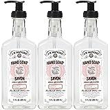 J.R. Watkins Liquid Hand Soap, Grapefruit, 11 Fl Oz (Pack of 3)