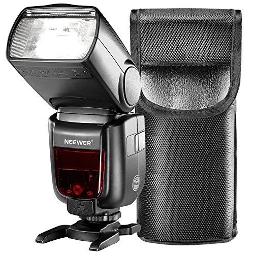 Neewer GN60 2.4GマニュアルHSSマスタースレーブフラッシュスピードライト 新しいMiホットシュー付きのSony A7 A7S A7SII A7R A7RII A7II A6000 A6300 A6500 A77II A58 A99カメラに対応「NW865S」