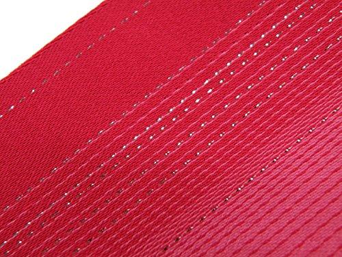 浴衣帯 グラデーション ラメ 半幅帯 無地 ゆかた帯 (ピンク)