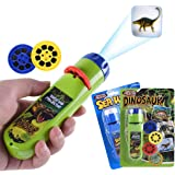 Yeelan Dinosaur Projector Torch Projection Light Animal Torches lamp Flashlight Educational Learning Bedtime Night Light for