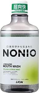 NONIO マウスウォッシュ スプラッシュシトラスミント 600ml 洗口液 (医薬部外品)