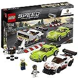 【 LEGO 】 レゴ スピードチャンピオン ポルシェ 911 RSR と 911 ターボ 3.0