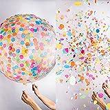 Youzhe 結婚式 誕生日 バルーン 風船 巨大 2個セット 90cm (36インチ)おしゃれ 子ども おもちゃ カラフル イベント パーティー 飾り 付け