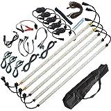 5X 12V LED Camping Lights Kit White/Orange Strip Bar Rigid Caravan Cabinet 4WD