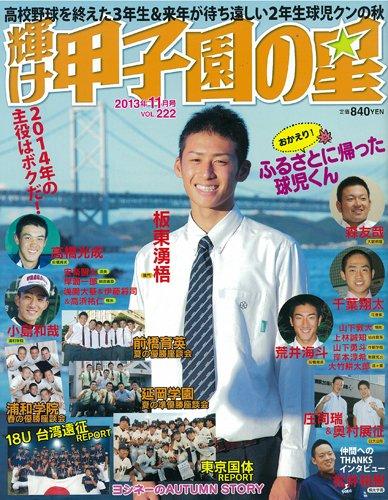 輝け甲子園の星 2013年 11月号 [雑誌]