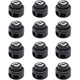 RJ-Sport Heavy Duty Cord Locks, Double Hole Drawstring Stopper Fastener for No Tie Shoelaces and More