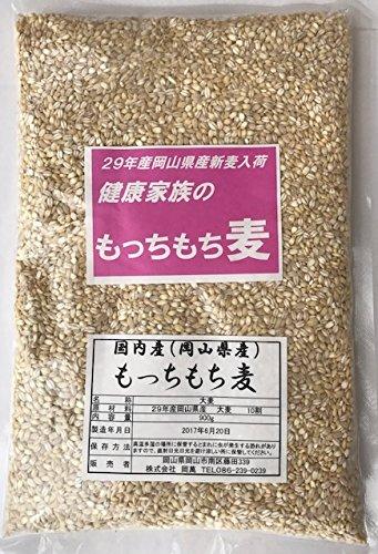 29年産岡山県産もっちもち大麦 900g ...