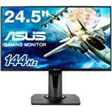 "ASUS 90LM0450-B01310 VG258Q 24.5"" Full HD Gaming Monitor, 1ms, 144Hz, G-SYNC Compatible, Adaptive-Sync Black"