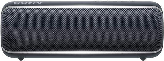 ソニー SONY ワイヤレスポータブルスピーカー SRS-XB22 : 防水 / 防塵 / 防錆 / Bluetooth / 重低音モデル ライティング機能搭載 2019年モデル ブラック