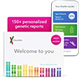 23andMe Health + Ancestry Service: Personal Genetic DNA Test Including Health Predispositions, Carrier Status, Wellness, and