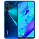 "Huawei Nova 5T (128GB, 8GB) 6.26"" LCD, Kirin 980, 48MP Quad Camera, 22.5W Fast Charge, Dual SIM GSM Unlocked Global 4G LTE In"