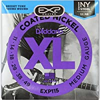 D'Addario EXP115 Coated Blues/Jazz Rock×3SET エレキギター弦