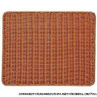 萬洋 樹脂すのこ(茶) 50×40 91-101B
