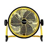 DD-空気冷却器 ポータブル フロアファン 扇風機 ファン 家庭 デスクトップファン フィールド 垂直 永続的なキャンプ -冷蔵庫