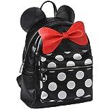 Cerdá Mochila Moda Minnie Casual Daypack, 25 cm, Black (negro)