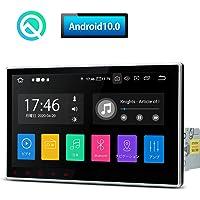 (DA100L*) XTRONS 10インチ1din カーナビ Android10.0 アップグレード版 車載PC RA…