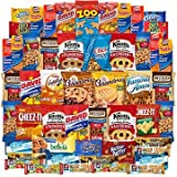 Cookies and Candies Snacks Variety Pack Bulk Sampler Assortment (Care Package 50 Count) [並行輸入品]