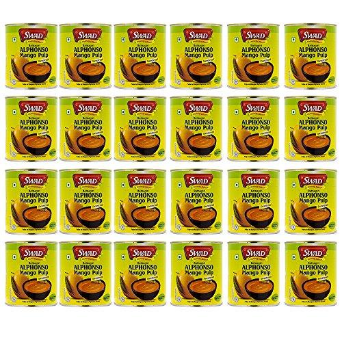 SWAD アルフォンソ マンゴーピューレ 850g ×24缶 【2ケース】 Mango Pure