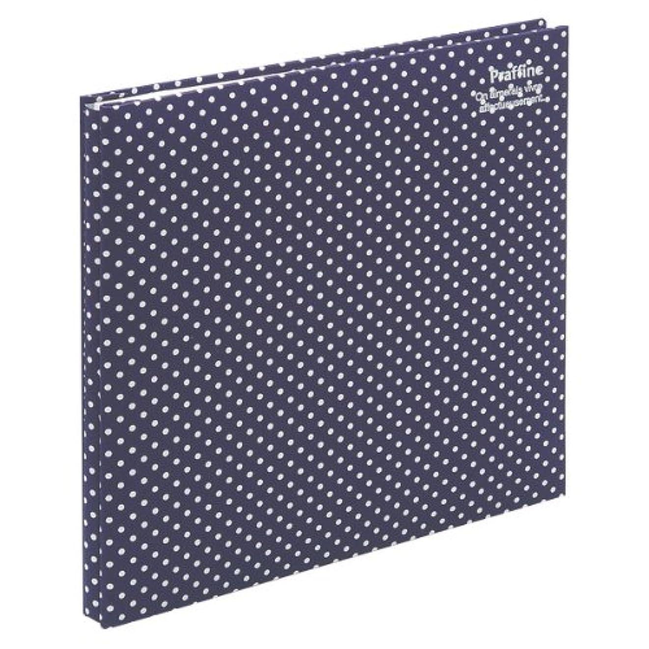 原子肖像画渇きナカバヤシ ファイル デジタルフリーアルバム Praffine デミサイズ ブルー ア-DP-144-B