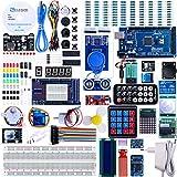 ELEGOO Arduino用Mega2560スタータキット最終版 初心者向け、チュートリアル付、MEGA 2560ボード, LCD1602