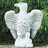 海辺の鷲(右)AQUILA MARINA DX イタリア製 動物像(ガーデン オーナメント)
