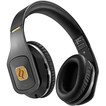 Noontec Hammo Wirelessプロフェッショナルモニターヘッドホン スタジオ、生放送、DJや個人向け ハイレゾ 片耳 Bluetooth 4.1対応 連続50時間使用可能