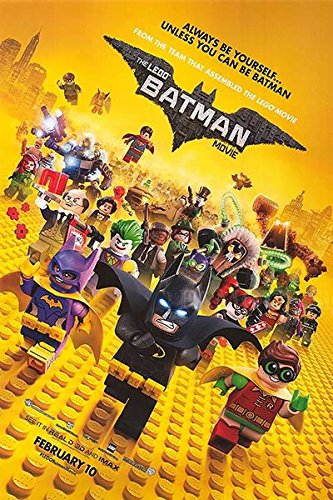 映画ポスター レゴバットマン ザ・ムービー The Lego Batman Movie /アニメ インテリア おしゃれ フレームなし /ADV-B-両面 【数量限定・初版】