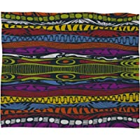 Deny Designs Karen Harris Wavelength Island Chic Fleece Throw Blanket 50 x 60 [並行輸入品]