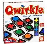クワークル (Qwirkle) 108木製Qwirkleタイル、ドローストリングバッグ、ルールブック ボードゲーム