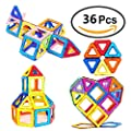 Magnetic Building Blocks Creative Magnet Tiles Educational STEM Toys Set Stacking Blocks for Toddler Kids Over 3 Years Old