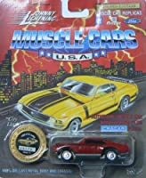 Johnny Lightning Muscle Cars U.S.A. Series 11 1969 GTO Judge Red with Collector Coin by Johnny Lightning