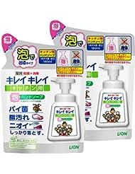 (医薬部外品)【まとめ買い】キレイキレイ 薬用 キッチン泡ハンドソープ 詰め替え 180ml×2個
